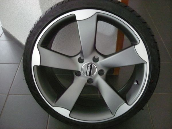 "Sigma Komplettradsatz zu Audi 5x 112 8,5x19\"" ET43 neu Fr.1000.-"